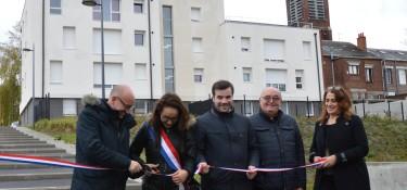 Logement à Louvroil, inauguration de 3 résidences