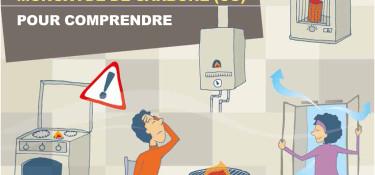 Monoxyde de carbone, attention au risque d'intoxication