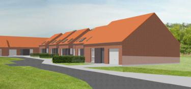 10 logements en construction à Bachant