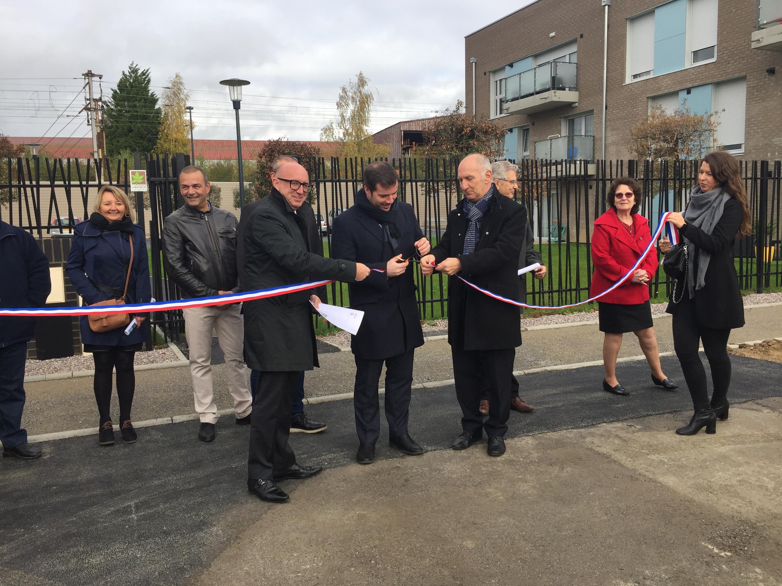2 résidences inaugurées à Jeumont