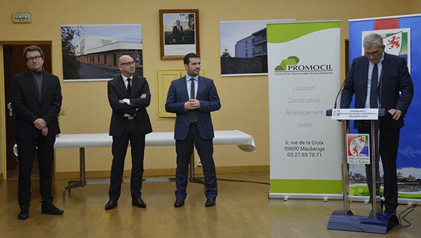 inauguration Résidence Jeumont Le 11 janvier 2016