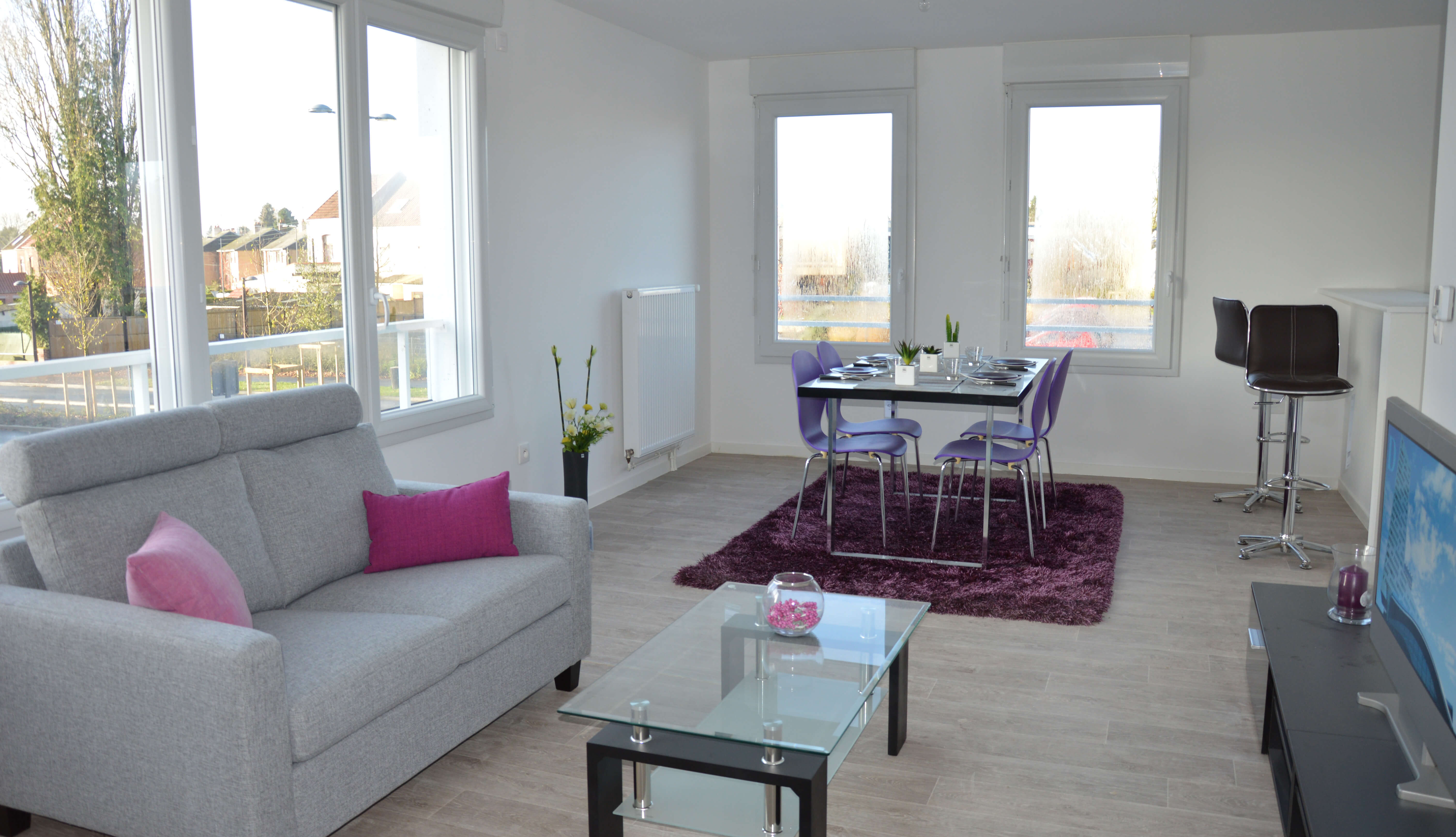 Location appartement maubeuge groupe sai for Location appartement par