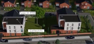 Nouveaux logements à Jeumont, découvrez la vidéo