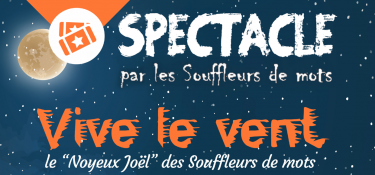 spectacle 7 décembre les souffleurs de mots et Maubeuge Art et Culture